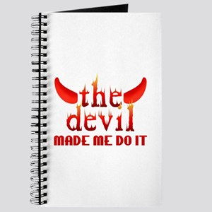 The Devil Made Me Do It Journal