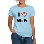 I Love Wi Fi Women's Light T-Shirt