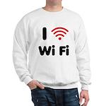 I Love Wi Fi Sweatshirt
