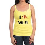 I Love Wi Fi Jr. Spaghetti Tank