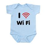 I Love Wi Fi Infant Bodysuit