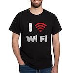 I Love Wi Fi Dark T-Shirt