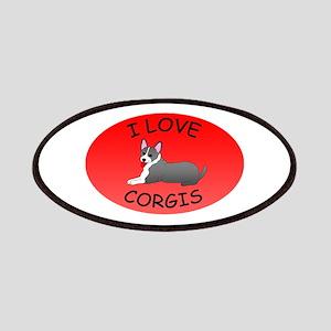 I Love Corgis Patches