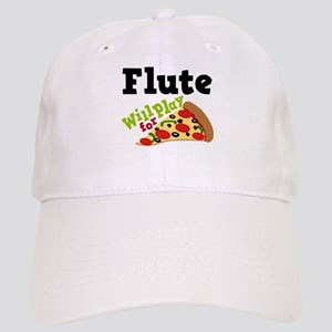 Flute Play For Pizza Cap