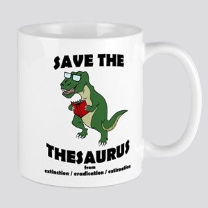 Save The Thesaurus Mug