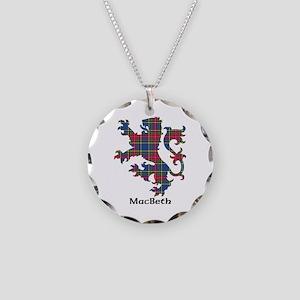Lion - MacBeth Necklace Circle Charm
