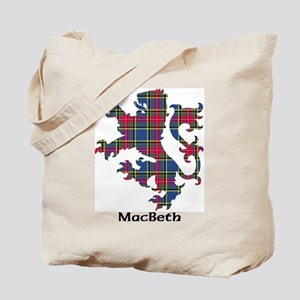 Lion - MacBeth Tote Bag