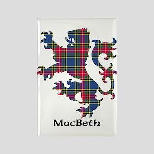 Lion - MacBeth Rectangle Magnet