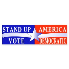 Stand Up America Bumper Bumper Sticker