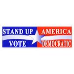Stand Up America Bumper Sticker