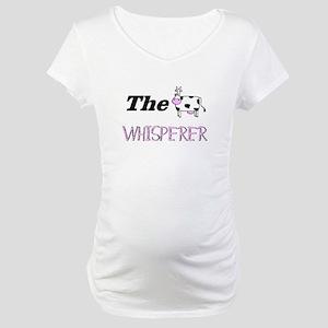 The Whisperer Maternity T-Shirt