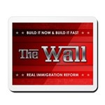 Build The Wall Mousepad