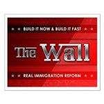Build The Wall Small Poster