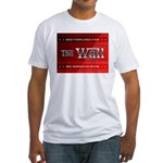 Build The Wall Fitted T-Shirt