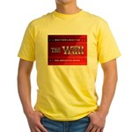 Build The Wall Yellow T-Shirt