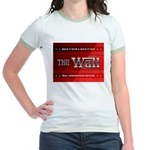 Build The Wall Jr. Ringer T-Shirt