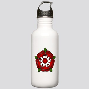 Tudor Rose Emblem Stainless Water Bottle 1.0L