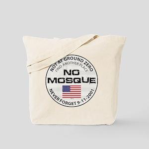 No Mosque At Ground Zero Tote Bag