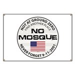 No Mosque At Ground Zero Banner