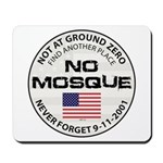 No Mosque At Ground Zero Mousepad