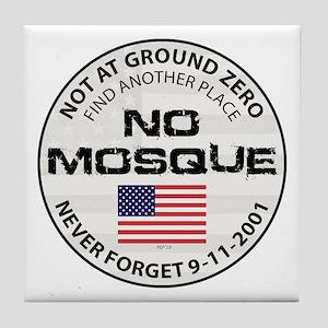 No Mosque At Ground Zero Tile Coaster
