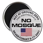 No Mosque At Ground Zero Magnet