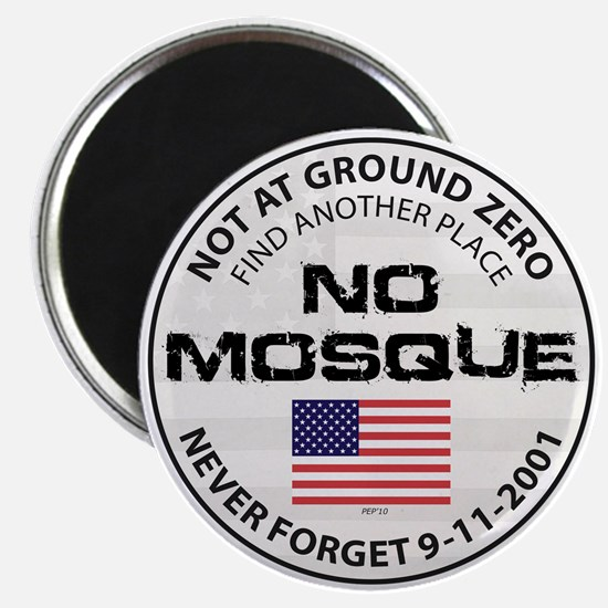 "No Mosque At Ground Zero 2.25"" Magnet (10 pack)"