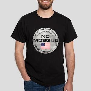 No Mosque At Ground Zero Dark T-Shirt