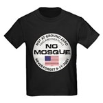 No Mosque At Ground Zero Kids Dark T-Shirt