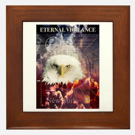 Eternal Vigilance Framed Tile