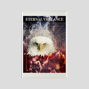Eternal Vigilance Rectangle Magnet