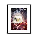 Eternal Vigilance Framed Panel Print
