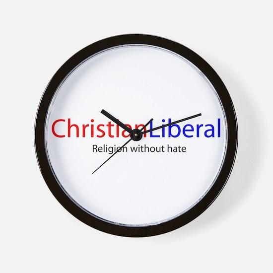 Christian Liberal Wall Clock