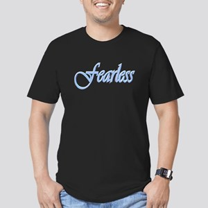 fearless Men's Fitted T-Shirt (dark)