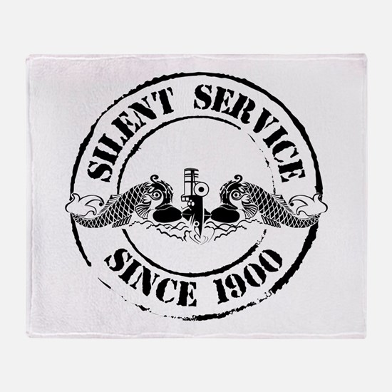 Silent Service Throw Blanket