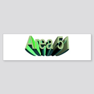area 51 Sticker (Bumper)