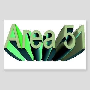 area 51 Sticker (Rectangle)