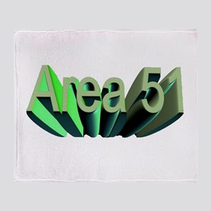 area 51 Throw Blanket