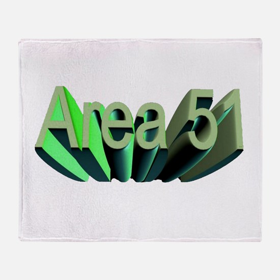 area 51 Throw Blanket