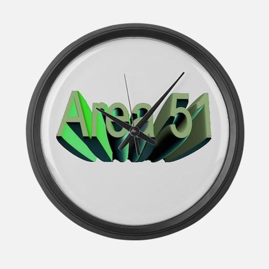 area 51 Large Wall Clock