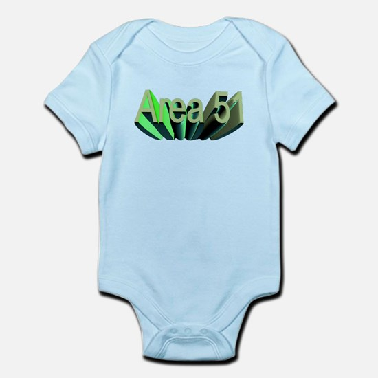 area 51 Infant Bodysuit