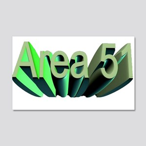 area 51 22x14 Wall Peel