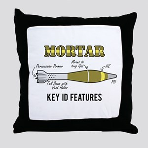 Mortar ID Throw Pillow