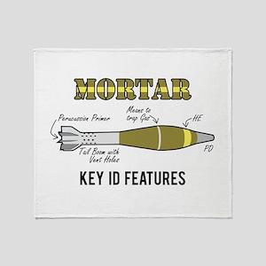 Mortar ID Throw Blanket