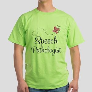 Speech Pathologist butterfly T-Shirt