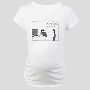 Preservation Notice Maternity T-Shirt