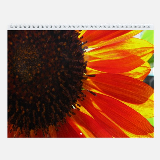 Flower-A-Month Wall Calendar