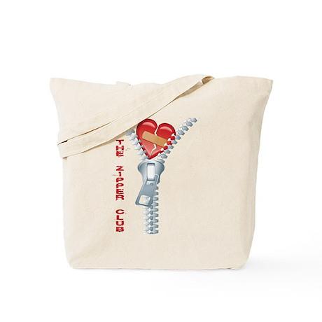 Zipper Club Tote Bag