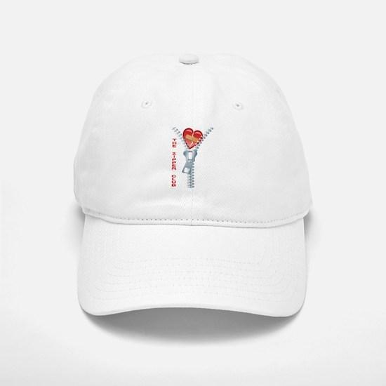 Zipper Club Baseball Baseball Cap