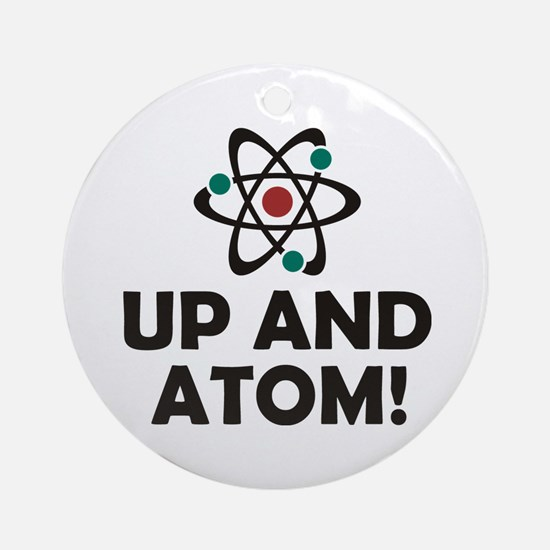 Up and Atom Ornament (Round)